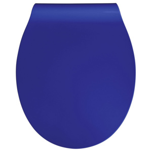 WC sedátko Eisl, blue, softclose, duroplast slim