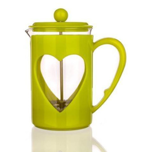French press green love luxus