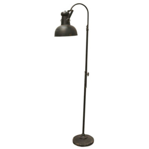 Stojací lampa Factory Antique Black 1,75m