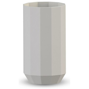 COOEE Design Váza Edge Light Grey - 25 cm