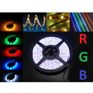 BERGE LED pásek SADA - RGB 5050 - 2,5 m, - 30LED/m - 18 W - IP65