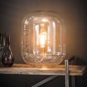 Stolní lampa Energa III Clear glass