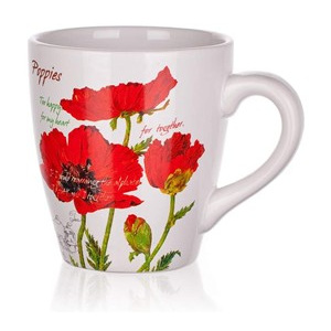 BANQUET Hrnek 500ml Red Poppy