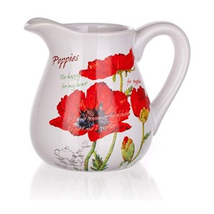 BANQUET Džbánek Red Poppy 880ml
