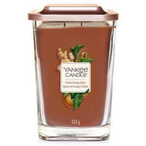 Yankee Candle – Elevation vonná svíčka Sweet Orange Spice, velká 553 g