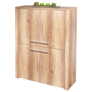Komoda Interlink Absoluto Wild Oak Highboard