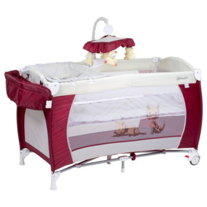 BabyGO Sleeper DeLuxe Red