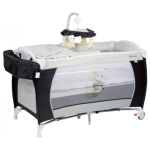 BabyGO Sleeper DeLuxe Black