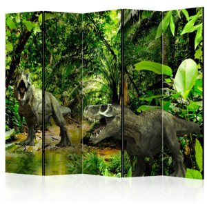 Paraván - Dinosaurs in the Jungle II 225x172