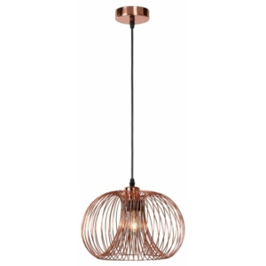 VINTI Pendant E27 D30 H18cm Red Copper ::
