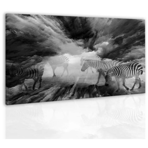 Obraz black and white (90x60 cm) - InSmile ®
