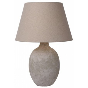LUCIDE BOYD Table Lamp E27 H56 D40cm Taupe, stolní lampa