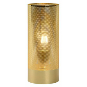 LUCIDE BELI Table Lamp E27 H30cm D12cm Brass, stolní lampa