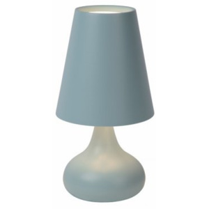 LUCIDE ISLA Table lamp E14 Blue, stolní lampa