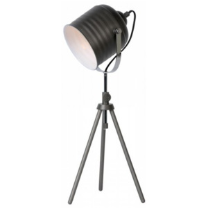 LUCIDE STUDIO Table Lamp E14 H62,5 D20cm Iron Grey, stolní lampa