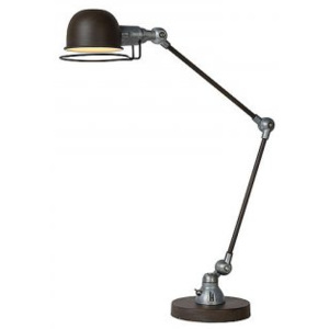 LUCIDE HONORE Desk Lamp E14 H60cm Rust Brown, stolní lampa