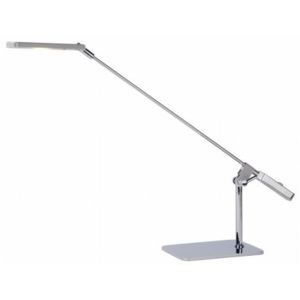 LUCIDE STRATOS Desk Lamp LED 5W 3000K Satin Chrome, stolní lampa