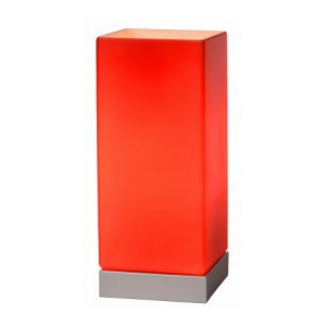 LUCIDE COLOUR-TOUCH Table Lamp E14 /40W D10 Red, stolní lampa