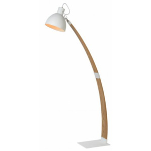 LUCIDE CURF Floor Lamp E27/60W White, stojací lampa