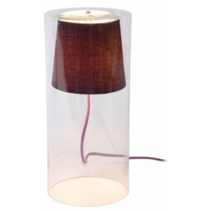 LUCIDE TINA Table Lamp 1xG9 D15 H32cm Purple, stolní lampa