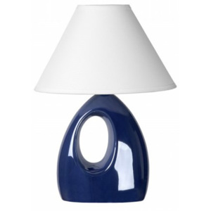 LUCIDE HOAL Table lamp H28cm E14/40W Pearl Blue, stolní lampa