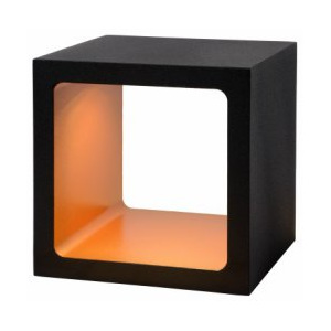 LUCIDE XIO Table Lamp LED 5W 3000K 10x10x10cm Black, stolní lampa