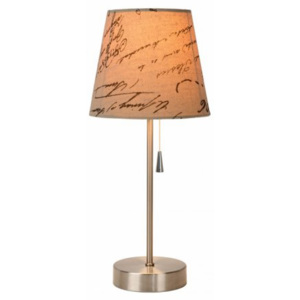 LUCIDE YOKO Table lamp E27 H40.5 Text print, stolní lampa