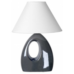 LUCIDE HOAL Table lamp H28cm E14/40W Pearl Grey, stolní lampa