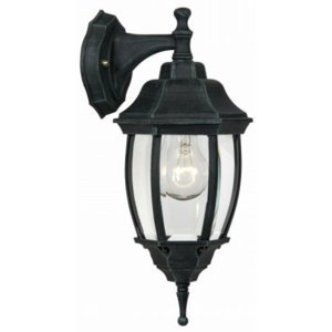 LUCIDE Outdoor lighting down H37cm E27/60W Antique Green, venkovní svítidlo