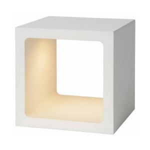 LUCIDE XIO Table Lamp LED 5W 3000K 10x10x10cm Whit