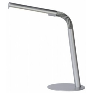 LUCIDE GILLY Desk Lamp LED 3W H49 D14cm 4000K Grey, stolní lampa