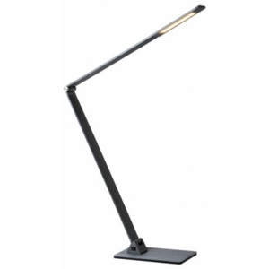LUCIDE FLATT Desk lamp LED 10W 30000K Grey, stolní lampa