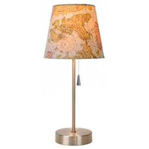 LUCIDE YOKO Table lamp E27 H40.5 World map, stolní lampa