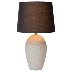 LUCIDE SALLY Table Lamp E27 H57,5cm Cream, stolní lampa