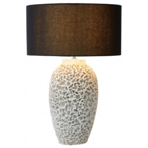 LUCIDE REEF Table Lamp E27 H59cm White, stolní lampa