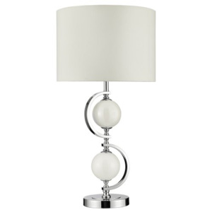 SEARCHLIGHT EU1965WH TABLE & FLOOR stolní lampa