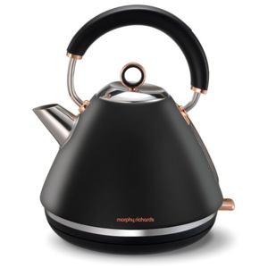 Morphy Richards konvice Accents Rosegold retro Black