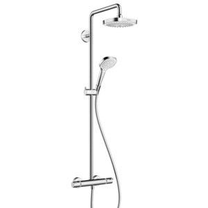 Hansgrohe Select showerpipe 27256400 - chrom/bílá