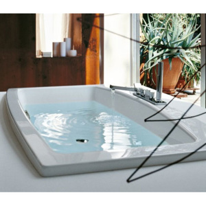 Laufen | LAUFEN MYLIFE vana 200 x 105 cm bílá ML01