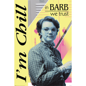 Plakát, Obraz - Stranger Things - In Barb We Trust, (61 x 91,5 cm)
