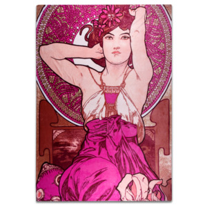 DEKA AMETYST, Alfons Mucha SLEEP WELL® 150x200cm