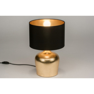 Stolní lampa Venetta Black and Gold
