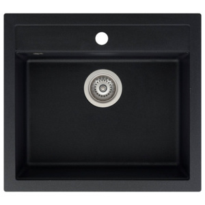 Aquasanita Quadro 565 Black metallic