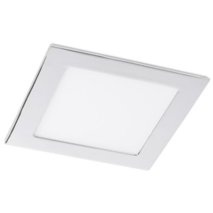 SLENDER SQ 17 zápustná černý chrom 230V LED 12W 3000K - RED - DESIGN RENDL