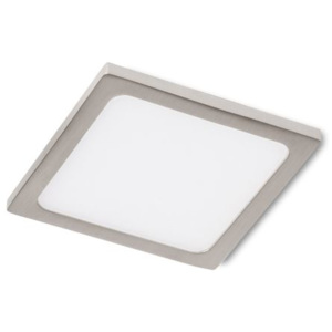 SLENDER SLIM SQ 9 zápustná černý chrom 230V LED 8W 3000K - RED - DESIGN RENDL - RD-RED R12166