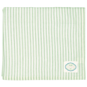 Ubrus Alice stripe pale green 145x250cm