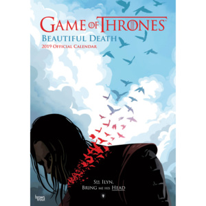 Kalendář 2019 Hra o Trůny (Game of Thrones) - Beautiful Death 2019 A3