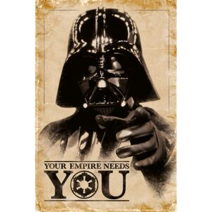 Plakát, Obraz - Star Wars - Your Empire Needs You, (61 x 91,5 cm)