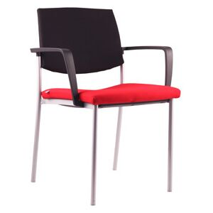 LD SEATING židle SEANCE ART 193-N4 BR-N1, kostra chrom