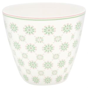 Porcelánový Latte cup Mila White 350 ml